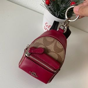 Coach Backpack Coin Case F76937